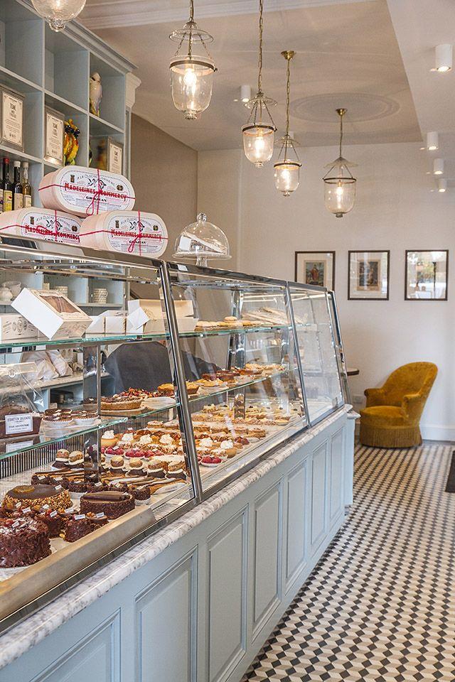 Intérieur de la pâtisserie de Sébastien Gaudard aux Tuileries