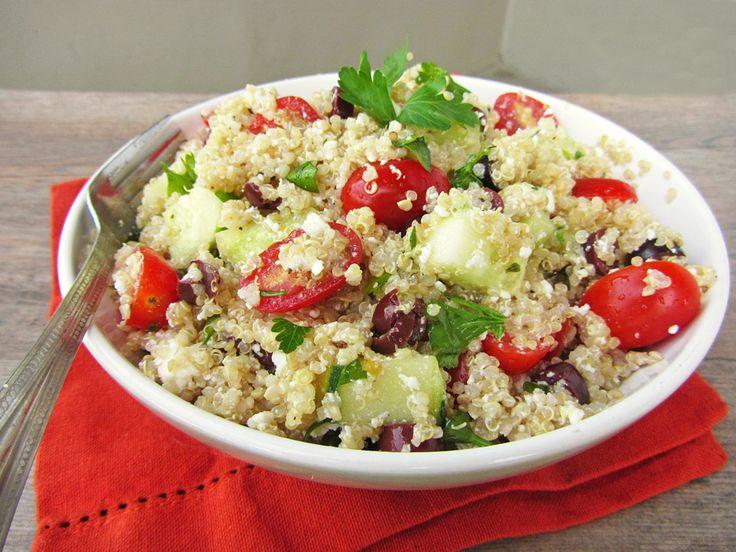 Caprese quinoa salade - Lekker en Simpel
