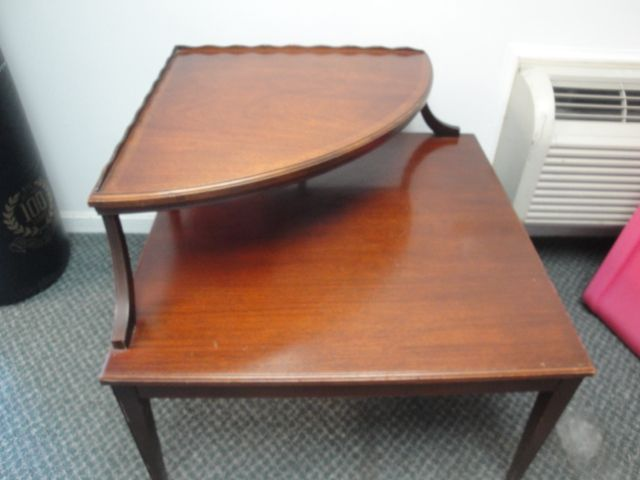 1950's-60's two tierd corner table - 39 Best Furniture Images On Pinterest Mirrors, 60 S And Bowls