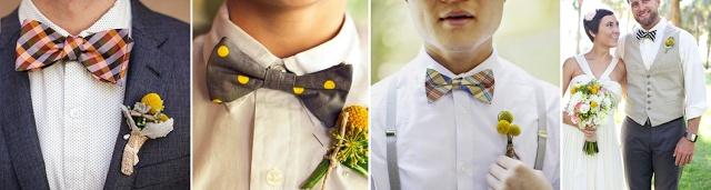 Wedding trend: Bow ties