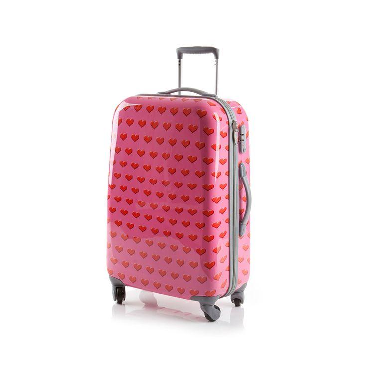 Tolle reisekoffer pink günstig