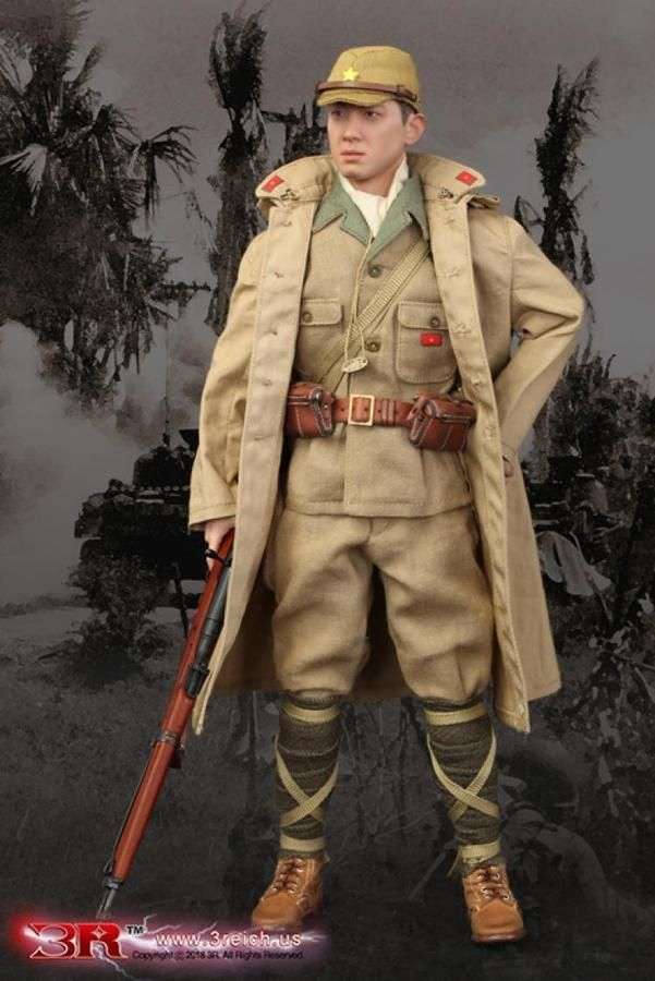 """1//6 Scale WW II Japanese Soldier Hat Model for 12/"""" Action Figure"""