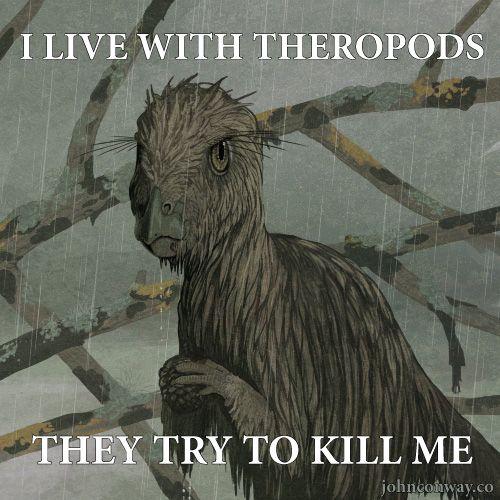 John Conways Log | Hay, it's the grumpy Hypsilophodon is grumpy meme!...