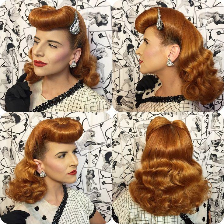 Creation Tutorial Curve Hairhair Tutorial Curve Creation Vintage Hairstyles Tutorial Hair Styles Vintage Hairstyles