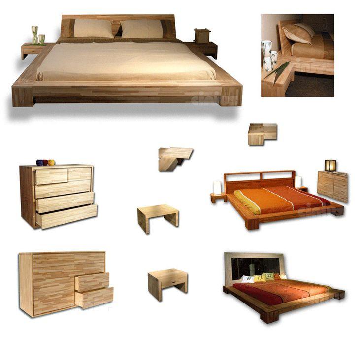 les 25 meilleures id es de la cat gorie lit japonais sur pinterest lit en contrebas cadre de. Black Bedroom Furniture Sets. Home Design Ideas