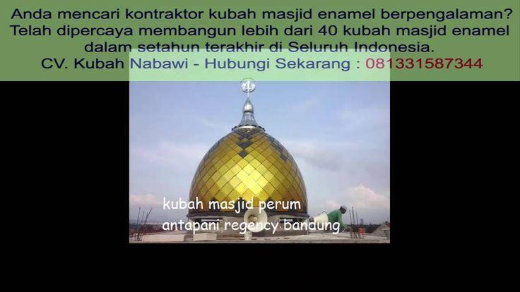 Kontraktor Kubah Masjid di Batu | Hub 081331587344 Termurah