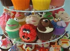 The Muppets cupcakes.