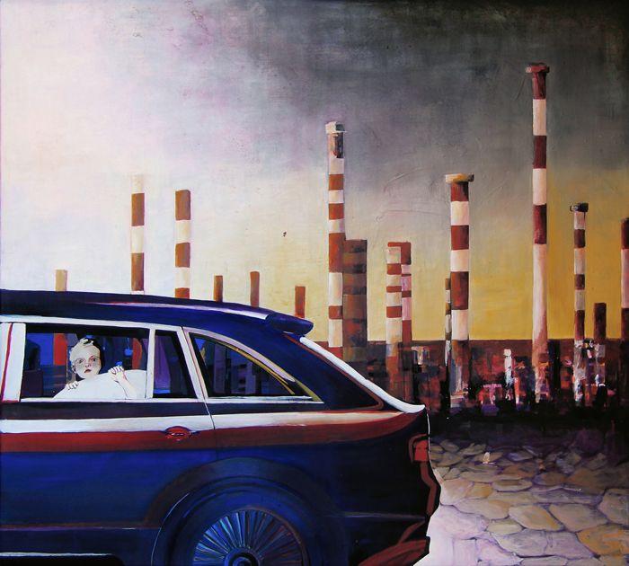 GaeTano and Valentina, CONTAMINAZIONE DIFFUSA, © 2013, acrylic on canvas, 100 x 90 cm.  #pittura #art #painting #arts #GaeTanoAndValentina #AcrylicOnCanvas #scenographTwoArt #SCENOGRAPH2ART #GaeTanoeValentina #visualart #canvas #sem #acrylic #peinture #ceruleo #dipinti #monza #italy