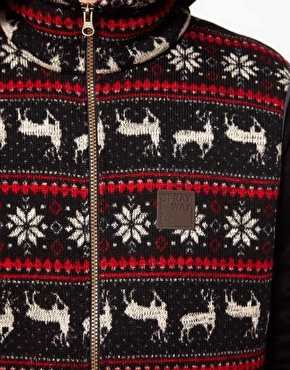 ASOS Sprayway Reindeer Gilet - EXCLUSIVE