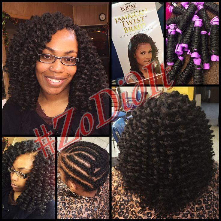 Crochet Hair Rodded : + images about Crochet Braids on Pinterest Crotchet Braids, Crochet ...