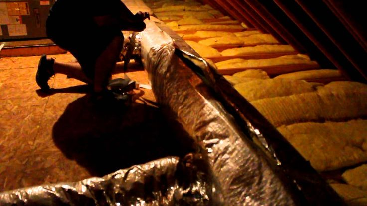 Attic Duct Insulation Repair and Sealing - Attics are out of sight and out of mind but inspecting them from time to time could provide for significant saving...