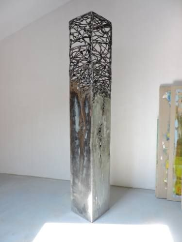 "Saatchi Art Artist Michele Rizzi; Sculpture, ""Dolmen (organic future)"" #art"