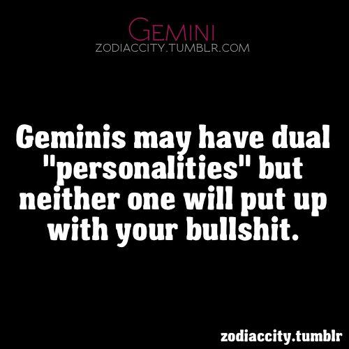 traits of a gemini female