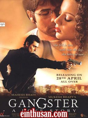 Gangster A Love Story Hindi Movie Online - Emraan Hashmi, Kangana Ranaut and Shiney Ahuja. Directed by Anurag Basu. Music by Pritam Chakraborty. 2006 [A] Blu-Ray w.eng.subs
