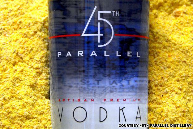 Vodka: 45th Parallel Distillery, Wisconsin, United States