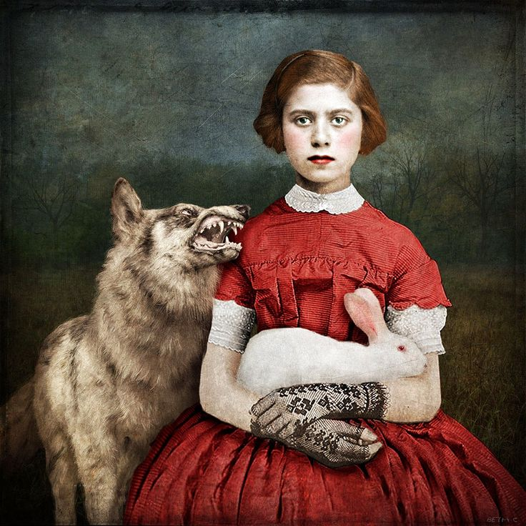 """""""Innocence"""" / Little Red Riding Hood - by Beth Conklin"""