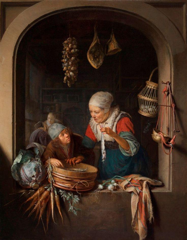 Gerrit Dou_Barroco holandés