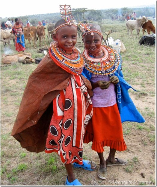 A child-friendly introduction to the Maasai people of the Northern Rift Valley in Kenya