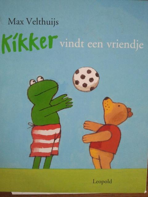 prentenboek: kikker vindt een vriendje