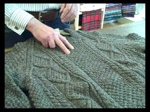 Video about the history of the Aran sweater.
