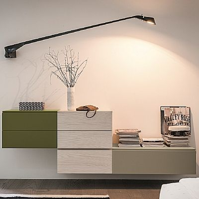 Amazing, elegant 'Pea' Wall Unit. Beautiful, elegant piece. My Italian Living