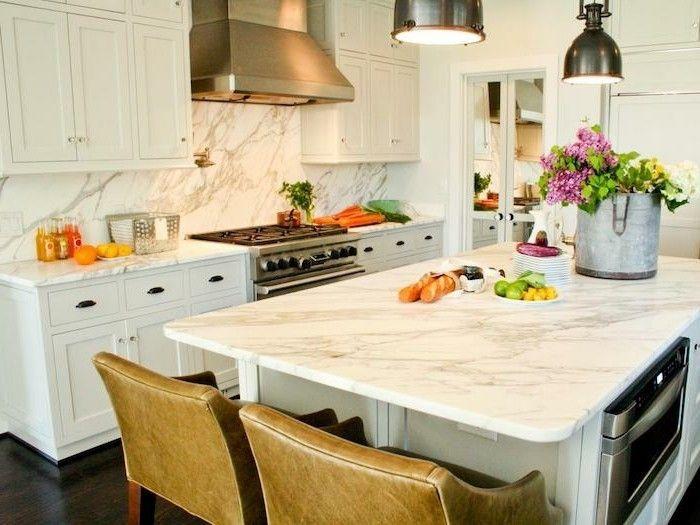 Schön Best 25+ Arbeitsplatte Küche Ideas On Pinterest Arbeitsplatte   Marmor Kuche  Mit Beton Wand Minimalistisch