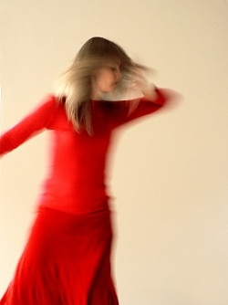 The story of the magical red dress.