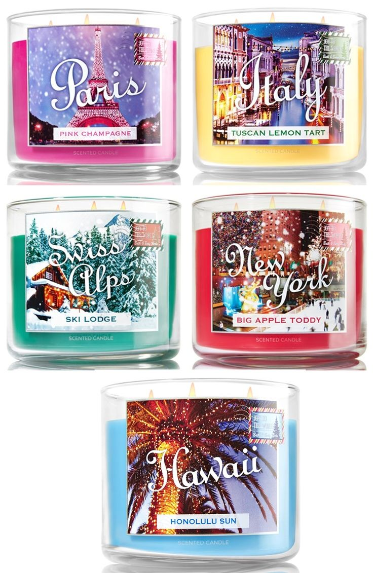 Bath and Body Works Destination Candles 2015 | http://www.musingsofamuse.com/2015/12/bath-body-works-destination-candles-2015.html