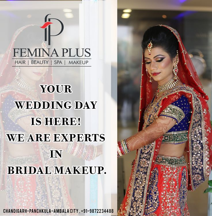 Find this Pin and more on Bridal Makeup / Bridal Packages / Wedding Makeup by feminaplus.