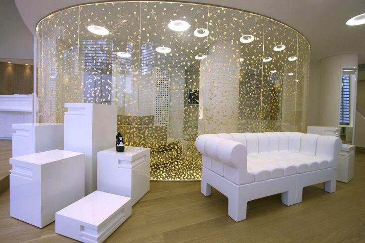 Cloison amovible en acrylique cintr e r f e 006 dacryl les cloisons amovibles pinterest - Cloisons amovibles appartement ...