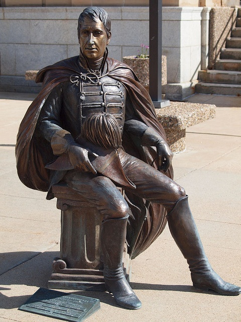 William Henry Harrison Statue, Presidents Tour, Rapid City, South Dakota - 9th President of the United States of America