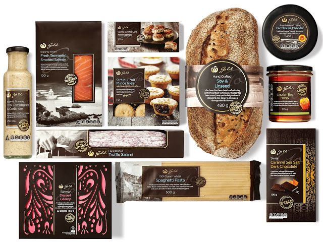 Woolworths Gold on Packaging of the World - Creative Package Design Gallery