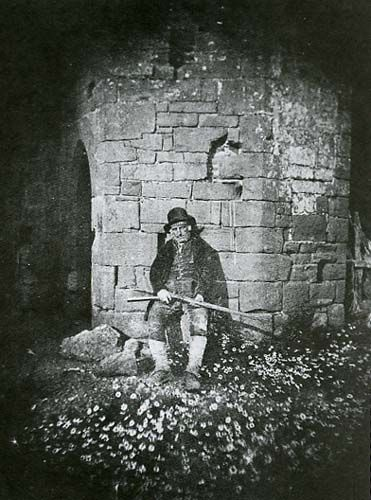Fox Talbot, William Henry - The Game Keeper, 1843. William Henry Fox Talbot pioneered what became known as the salt print.