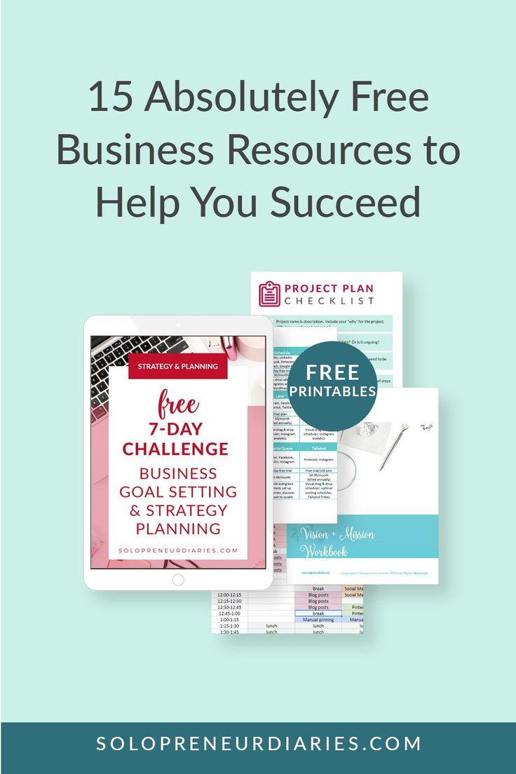 Solopreneur Diaries Freebies Business Plan Ideas of