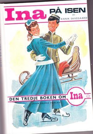 """Ina på isen"" av Annik Saxegaard"