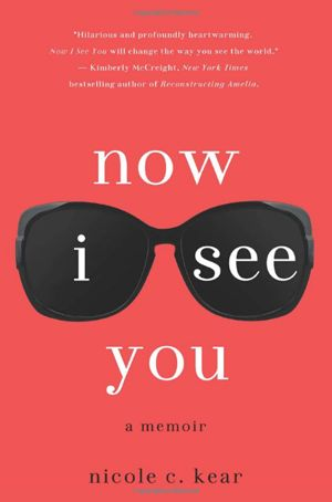 Now I See You by Nicole C. Kear When 19-year-old Nicole (the author) finds out she's going blind due to a rare eye disease, she decides to live life to the fullest during her last few weeks with vision. This memoir is a story of how to deal with life's curveballs and accepting the ones you have no control over with grace.