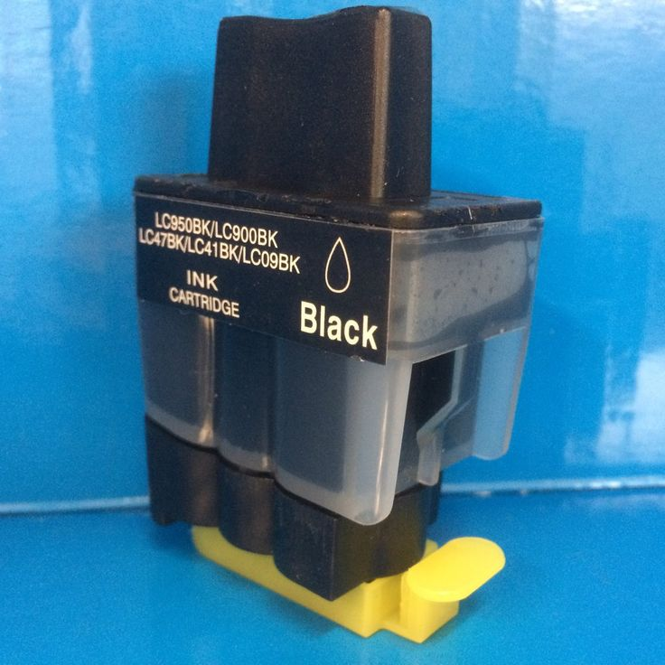 LC900 4 X BLACK BROTHER INK CARTRIDGES MFC-5460CN MFC-5860CN etc. Non OEM