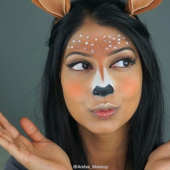 #snapchat #costume #disfraz #deer #reno #carnaval #diy #carnaval #disguises #carnival #crafts #funny #dressup #costumes #original #hechoamano