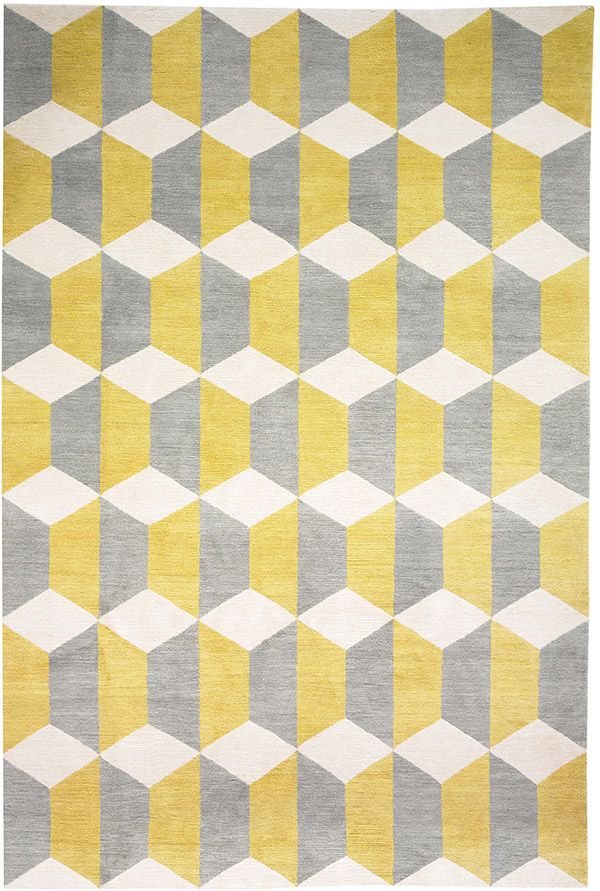 Chiesa Yellow by Suzanne Sharp for The Rug Company