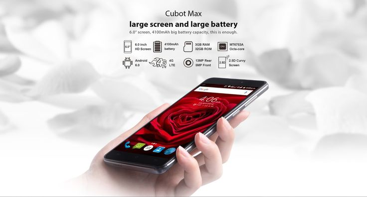 Cubot Max + Free Smart Band, Special Offer from Gearbest  @  $119.99 Only !!!  http://www.mobilescoupons.com/coupons-deals/cubot-max-free-smart-band-special-offer-from-gearbest
