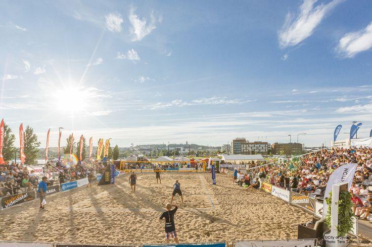 Beach volley. ©City of Jyväskylä Photo: Tero Takalo-Eskola.