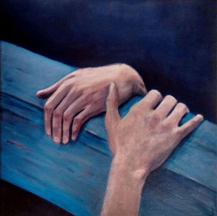 Hanging hands