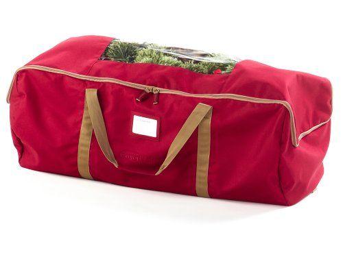 covermates 60u2033 christmas tree duffel bag fits 75 foot to 9 foot trees covermates - Christmas Tree Bags