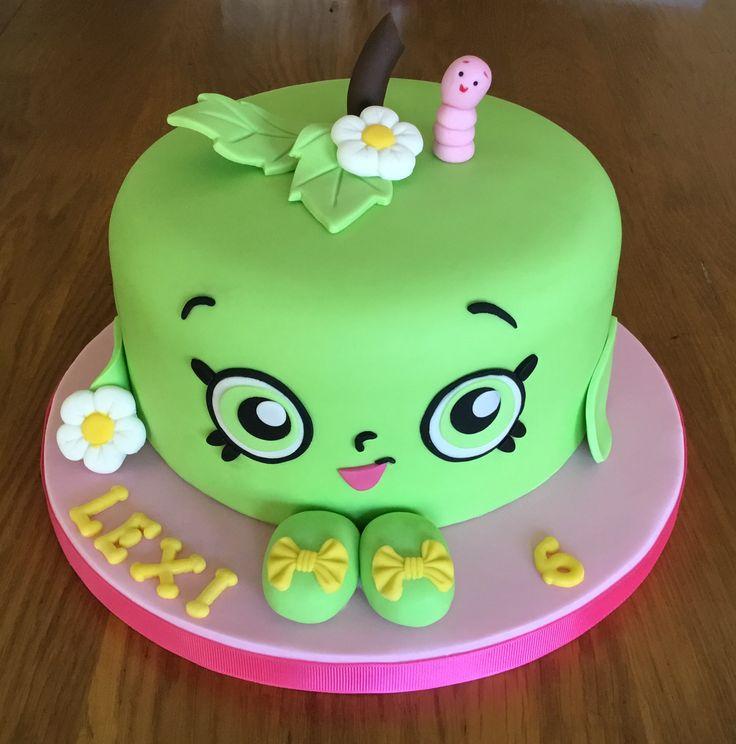 Apple Blossom Shopkins Cake