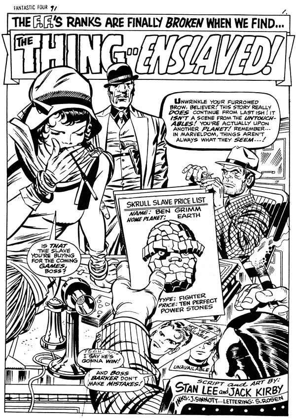 Fantastic Four 91, page 1