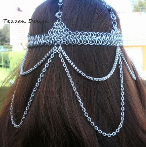 Head Piece - Chainmail Head Pieces - Gallery - TheRingLord