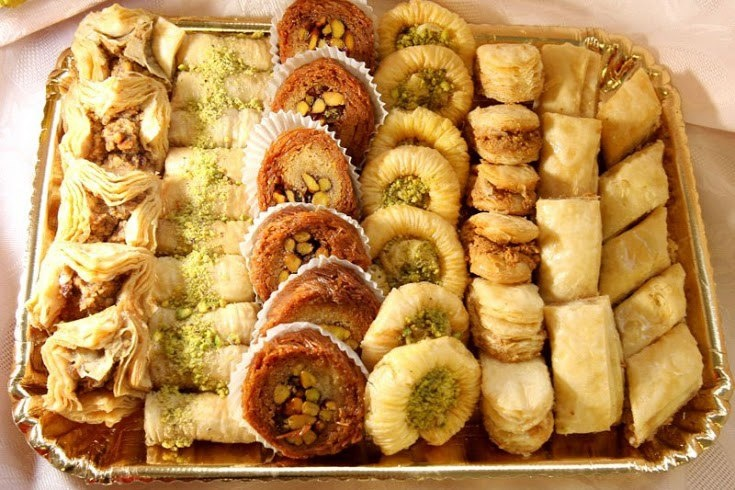 Syrian desserts | Syrian recipes | Ethnic recipes, Pastry ...