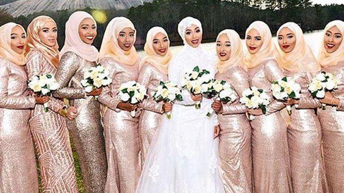 Braidsmaid Hijab - Tampil Kompak di Nikahan Kerabat Yuk! Lagi Tren di Kalangan Anak Muda Lho