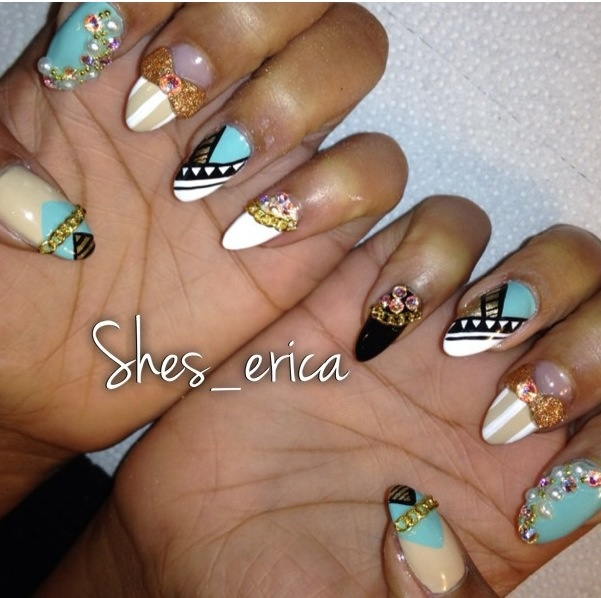Stiletto nails dope nail design ideas- nails swag obsession - nail porn  addiction - The 25+ Best Dope Nail Designs Ideas On Pinterest Dope Nails