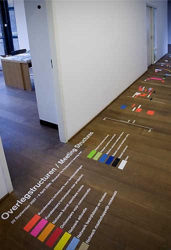 Luna Maurer, Meeting Structures (2007). © Gert Jan van Rooij, Museum De Paviljoens